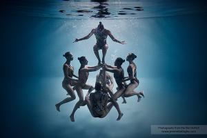 HZV Lutra synchroonzwemmen