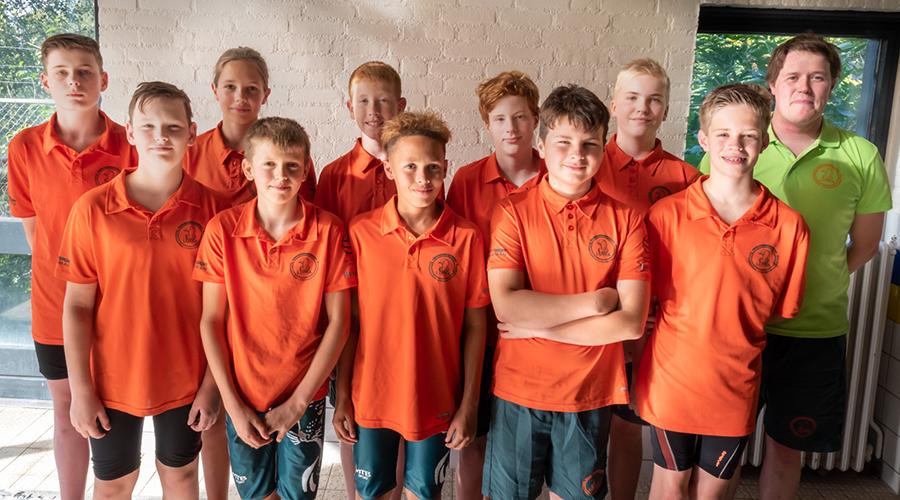 Lutra waterpolo C-jeugd seizoen 2019-2020