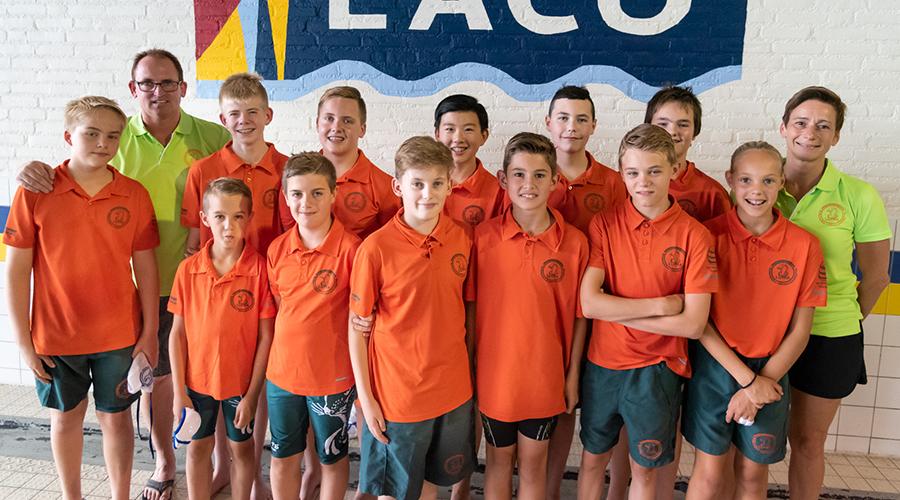 Lutra waterpolo D-jeugd seizoen 2019-2020