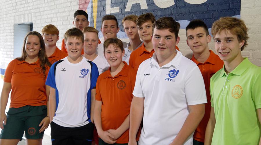 Lutra waterpolo B-jeugd seizoen 2019-2020