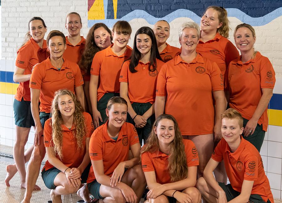 Lutra waterpolo Da2 seizoen 2019-2020