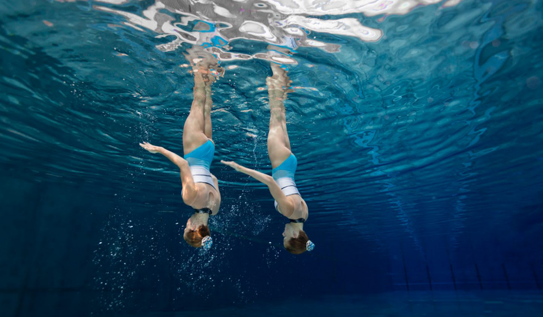 Synchroonzwemmen Lutra