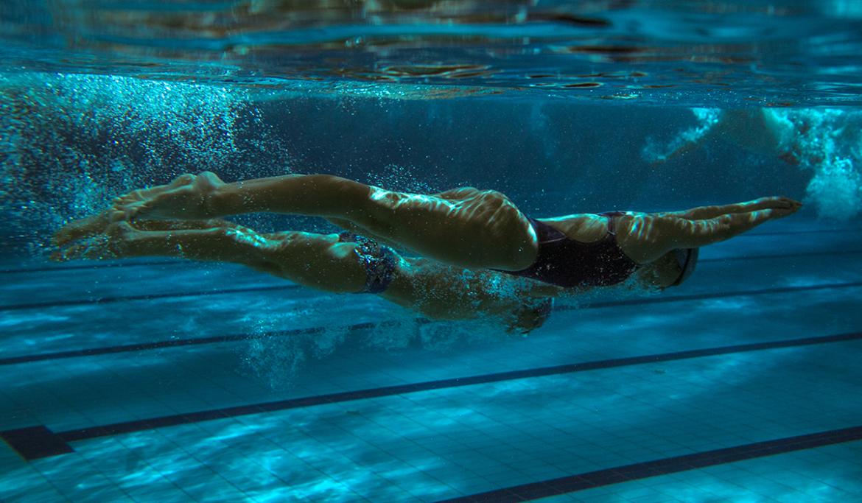 Lutra wedstrijdzwemmen